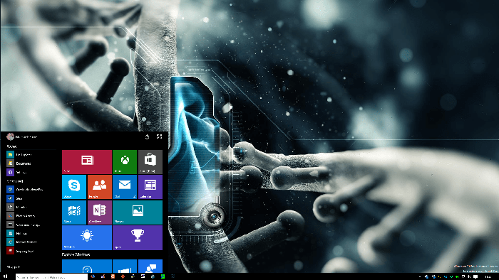 Windows 10 Start Menu Build 9926